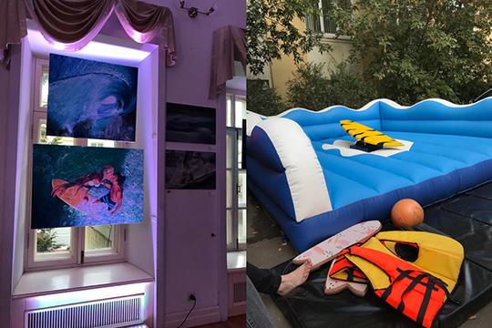 «Лови волну!»: Международная интерактивная выставка серф-искусства ВОЛНение