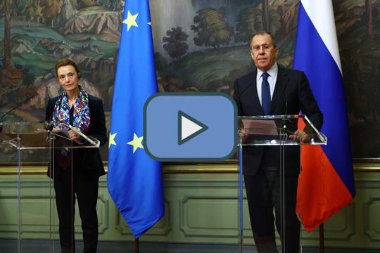 Сергей Лавров провел совместную пресс-конференцию с Генеральным секретарем СЕ