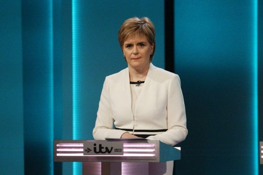 Глава правительства Шотландии просит ЕС поддержать ее стремление к независимости