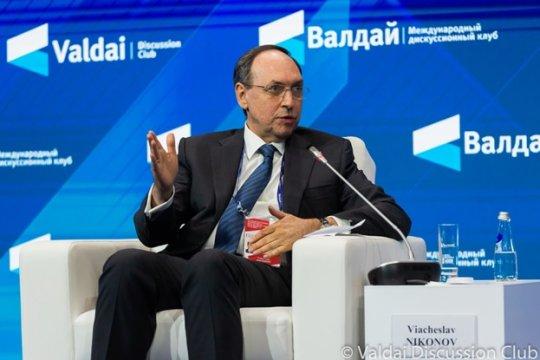 Вячеслав Никонов: Геополитический вакуум невозможен для России
