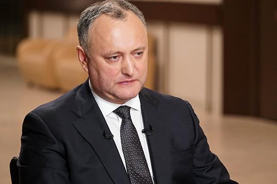 Игорь Додон: «Молдова не будет искать друзей против России на Западе»