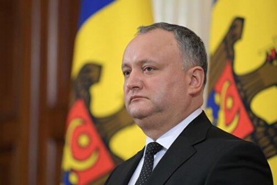 Додон заявил, что «теоретическая» победа Санду на выборах осложнит отношения с Россией