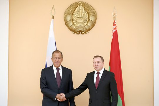 В Минске начались переговоры министров иностранных дел России и Белоруссии