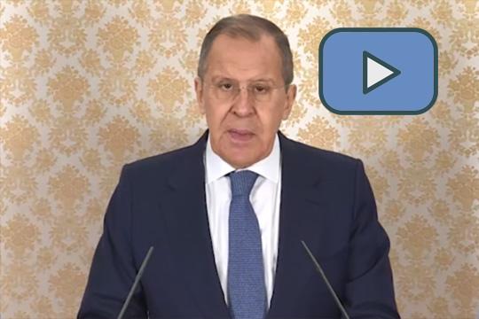 Видеообращение С.В.Лаврова к участникам Женевской международной конференции по Афганистану