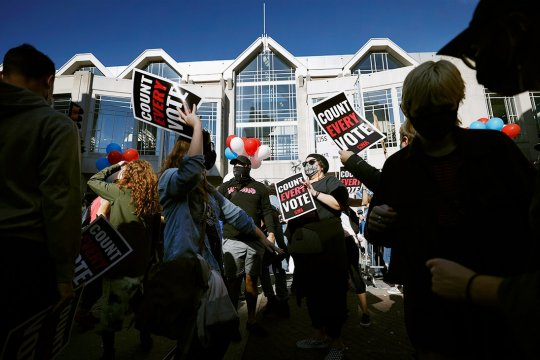 Президентские выборы в США: кризис общественного доверия