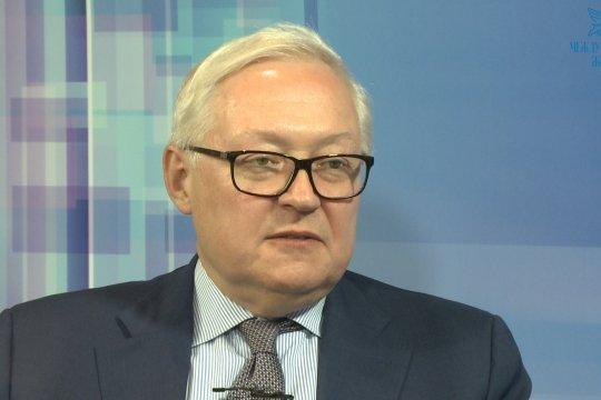 Сергей Рябков: Москва считает важным подтвердить недопустимость ядерной войны