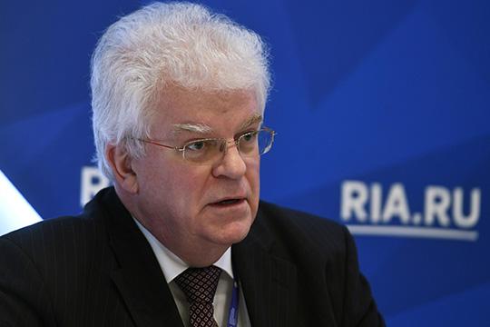 Владимир Чижов: «Санкционная политика в современном мире бессмысленна и вредна»