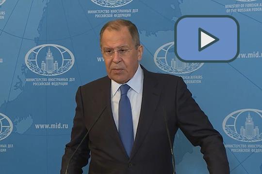 Выступление Сергея Лаврова по итогам заседания Совета министров иностранных дел ОДКБ