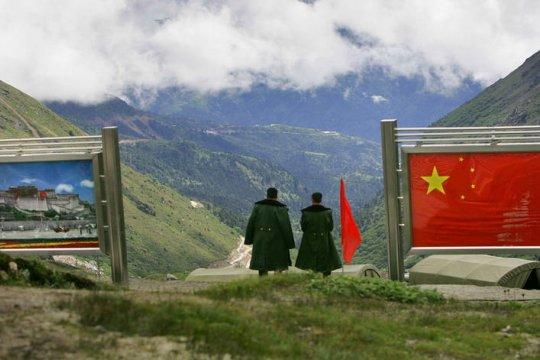 На китайско-индийской границе произошло столкновение между военнослужащими