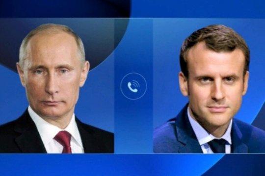 Президенты России и Франции обсудили карабахское урегулирование