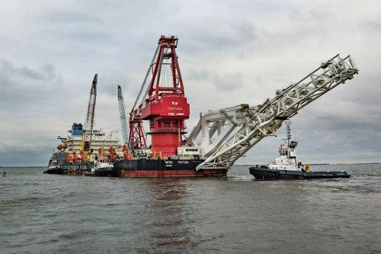 «Фортуна» возобновила строительство «Северного потока — 2» в водах Дании