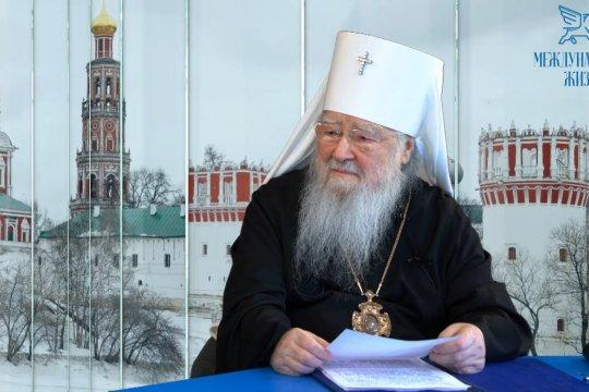 «Визави с миром». Митрополит Крутицкий и Коломенский Ювеналий: Без веры нет благополучия (часть 2-я)