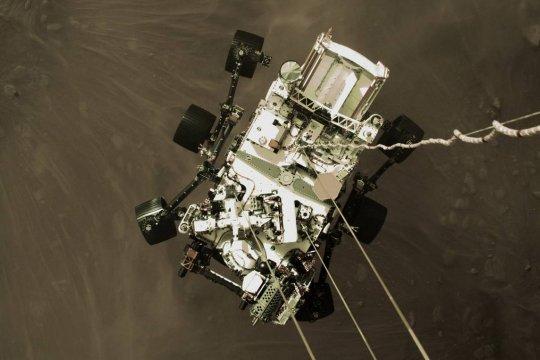 Марсоход Perseverance передал на землю аудиозапись звуков с «красной планеты»