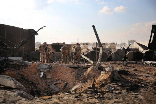По американской военной базе на севере Ирака нанесен ракетный удар