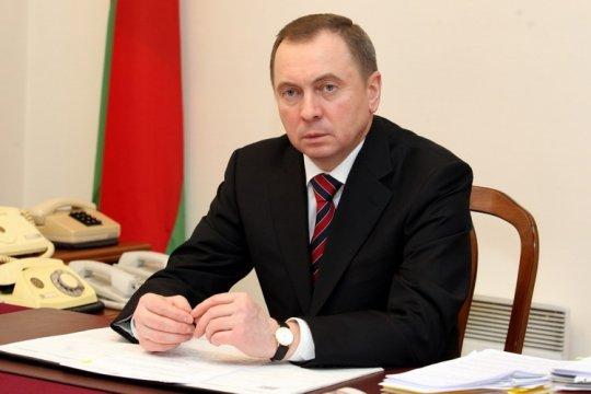 Макей заявил о заморозке политического диалога с Украиной