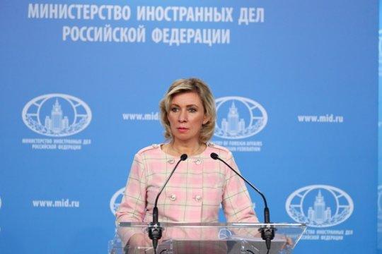 Мария Захарова: Запад ведёт против России информационную кампанию