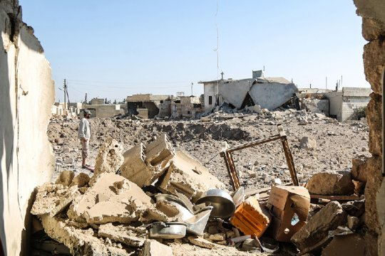 ВВС США нанесли удар по предполагаемым иранским объектам в Сирии