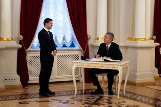 Зеленский рассказал о перспективах членства Украины в НАТО
