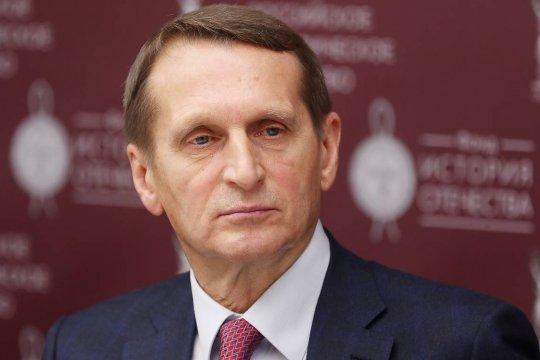 Нарышкин рассказал о недовольстве в США из-за политики партии «Грузинская мечта»
