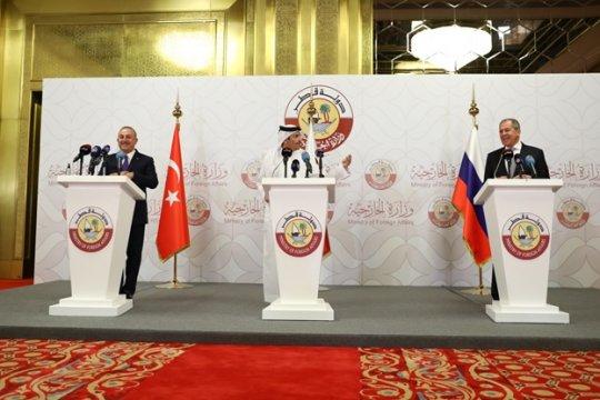 Россия, Турция и Катар выступили с заявлением по Сирии