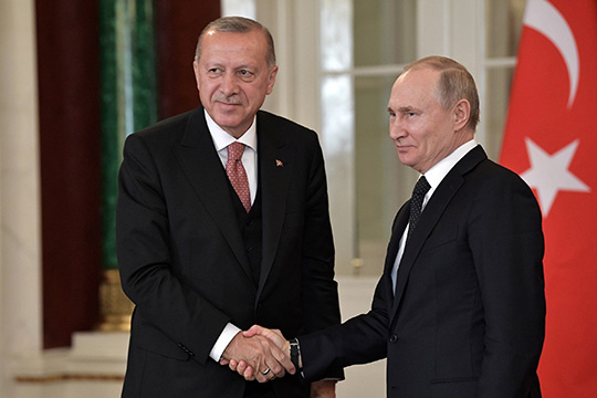 Россия-Турция: к столетию Московского договора