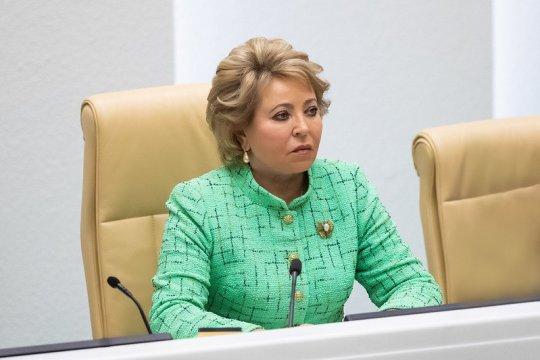 В. Матвиенко: В мире не должно быть искусственных преград и политизации в области поставок и распространения вакцин