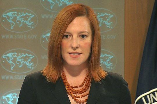 Псаки заявила о необходимости принятия коллегиального решения НАТО о приеме Украины в альянс