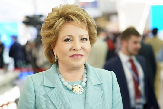 Поздравление В. Матвиенко Председателю парламента Туркменистана
