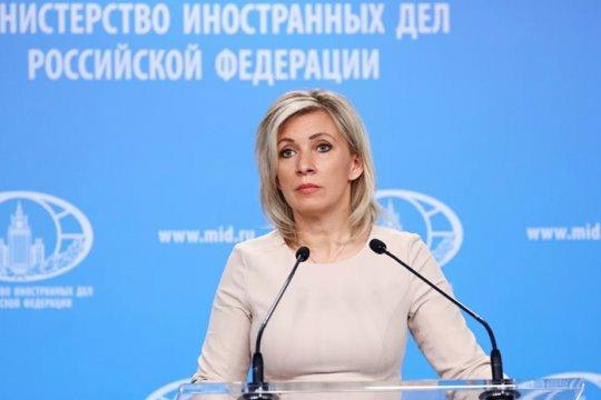 Захарова: эскалация в Донбассе построена на желании Киева вступить в НАТО