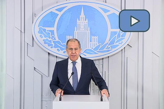 Видеообращение Министра иностранных дел Российской Федерации С.В.Лаврова по случаю 60-летия полета Ю.А.Гагарина в космос