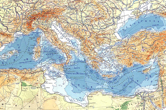 Рим, Анкара и il Mediterraneo allargato