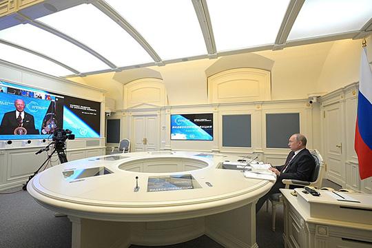 Владимир Путин принял участие в климатическом саммите
