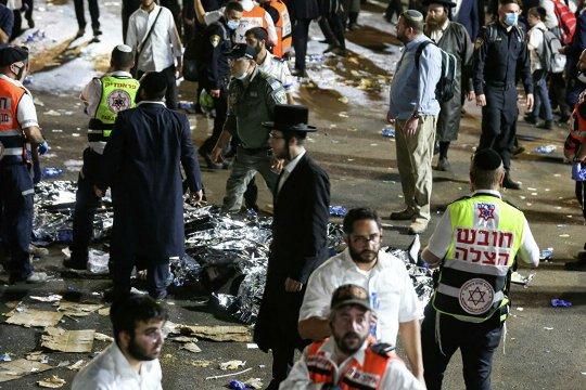 Более 40 человек погибли в Израиле из-за давки во время празднования Лаг ба-Омер