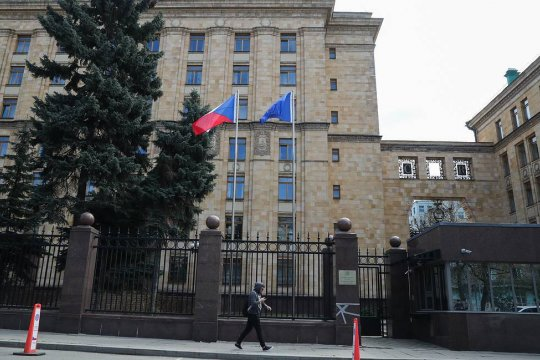 В посольстве Чехии в России останется пять дипломатов