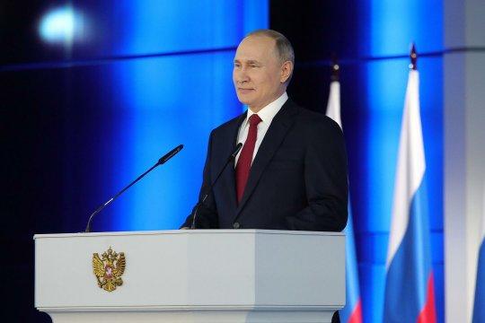 Ежегодное послание президента РФ Владимира Путина Федеральному Собранию