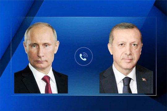 Путин и Эрдоган обсудили обострение палестино-израильского конфликта