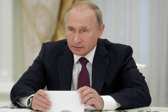 Путин поздравил лидеров и граждан иностранных государств с днем Победы