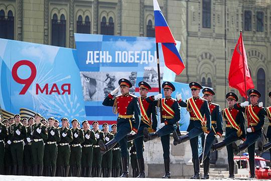 Парад в честь 76-ой годовщины Победы в Великой Отечественной Войне