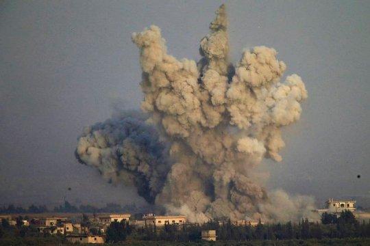ВВС США нанесли авиаудары по объектам на границе Ирака и Сирии