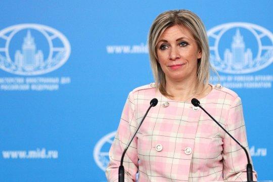 Мария Захарова: Украине стоит прекратить политическую истерику
