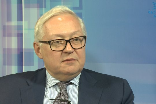 Рябков: для РФ и США настал момент, когда нужно поворачивать к большему взаимопониманию