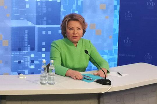 В.Матвиенко: «Я с оптимизмом смотрю на возобновление российско-американских контактов»