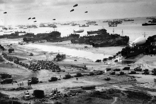 Высадка в Нормандии и преступления освободителей