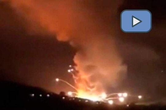 В Сербии на складе военного завода произошли взрывы