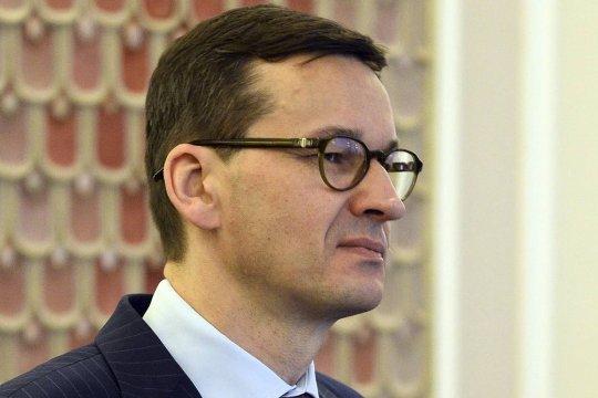 Моравецкий заявил о разочаровании Польши из-за  отказа США от санкций против Nord Stream II