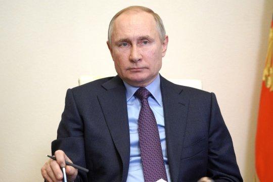 Путин сообщил о завершении прокладки первой нитки «Северного потока-2»