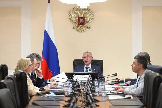 Состоялось заседание мониторинговой группы Временной комиссии СФ по защите государственного суверенитета и предотвращению вмешательства во внутренние дела России