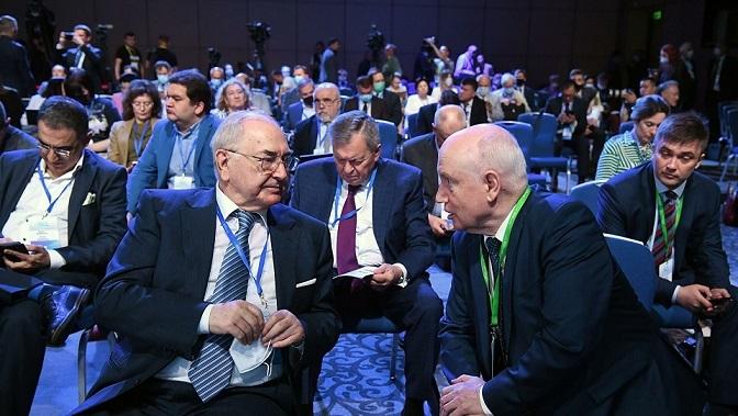В зале заседаний Конференции «Примаковские чтения-2021»