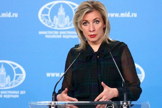 Захарова ответила на высказывание Зеленского о русских и украинцах