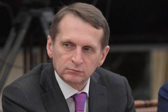 Нарышкин рассказал о взаимодействии СВР и ЦРУ в борьбе с терроризмом
